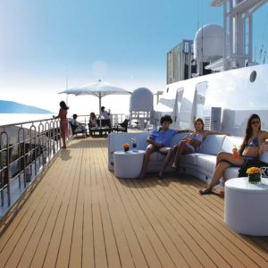 Motor yacht RM ELEGANT - SUNDECK